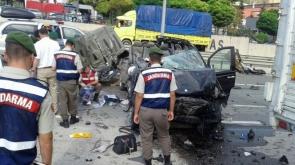 Bilecik'te büyük kaza: 3 ölü, 2 yaralı