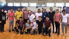 Konya, kick boksta 13 madalya kazandı