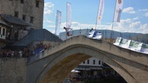 451. Mostar Köprüsü Geleneksel Atlama Yarışları yapıldı