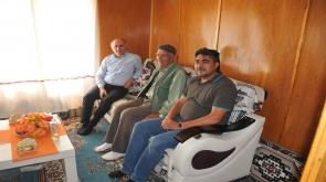 Karaman Valisi Meral, şehit ailelerini ziyaret etti