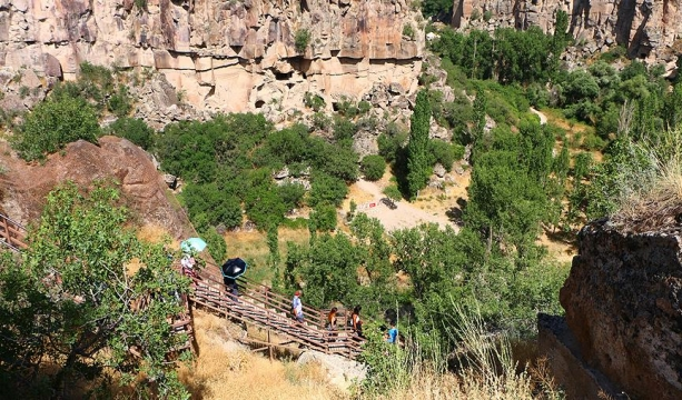Ihlara Vadisi inanç turizminde de ilgi odağı