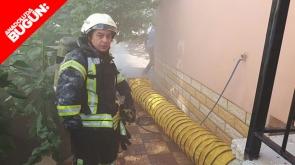 Karaman'da yangın