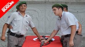 Engelli gençlerin askerlik sevinci #konyahaber