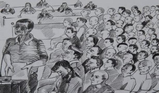 Akıncı Üssü davasının 12'inci celsesi tamamlandı