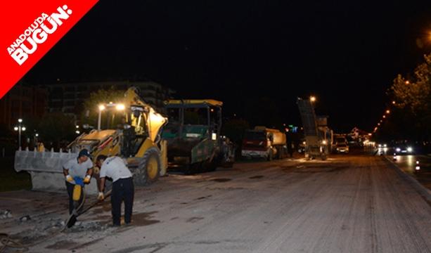 Konya'da asfalt yenileme çalışmaları sürüyor! #konyahaber