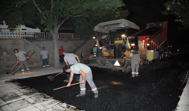 Konya'da ana arterler ve çevre yollarında asfalt yenileniyor #Konyahaber