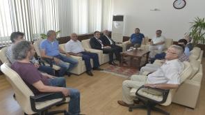 Türk Hava Kurumu Üniversitesinden Rektör Akgül'e ziyaret