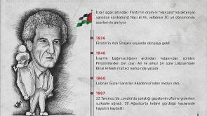 Filistin'in sembolü Hanzalanın babası Naci el Ali İstanbul'da anılacak