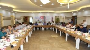 Ereğli'de tarım ve hayvancılık fuarı ve festival tanıtım toplantısı yapıldı #konyahaber