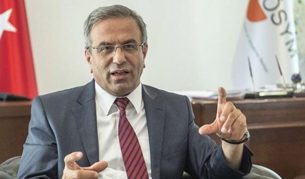 ÖSYM Başkanı istifa etti #ÖSYM