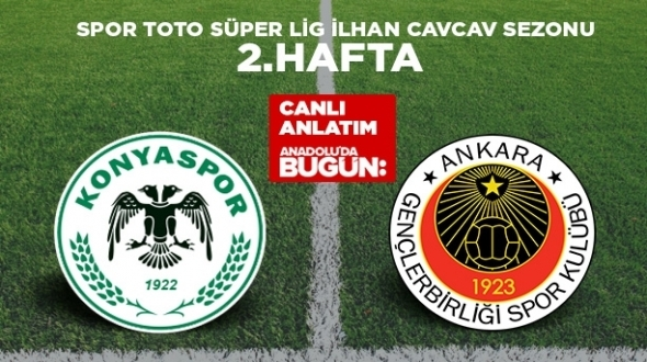 #Sondakika Atiker Konyaspor 3 - 0 Gençlerbirliği #KonyaSpor