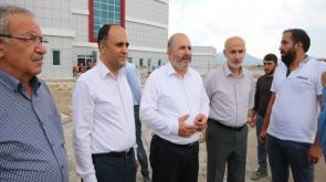 Baloğlu, Beyşehir'de devlet hastanesini inceledi #konyahaber