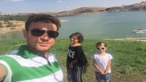 Çağlayan ailesi sille barajında