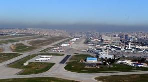 Atatürk Havalimanı'nda dün 202 bin yolcu hizmet aldı