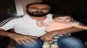 Necati Bakdur kızıyla gezmelerde
