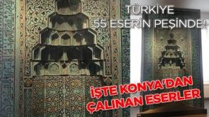 Türkiye 55 eserin peşinde! İşte Konya'dan çalınan eserler