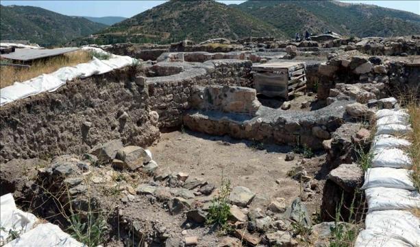 Komana Pontika Antik Kenti üretim merkeziymiş