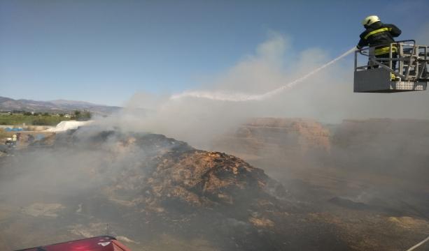 Konya'da 2 bin adet saman balyası yandı #konyahaber