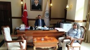 Başkan İbrahim'den  Erzincan ziyaret