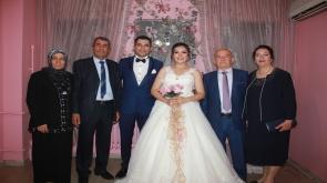 Damla ve Mehmet  çiftinin mutlu günü