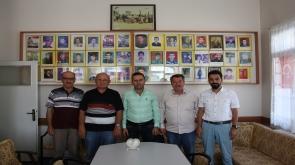TMMOB Konya'dan  şehit ailelerine ziyaret