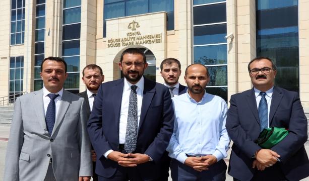 Cumhurbaşkanı Başdanışmanı Akış, Konya'daki FETÖ çatı davasını takip etti #KonyaHaber