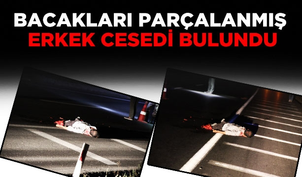 Bacakları parçalanmış erkek cesedi bulundu #KonyaHaber