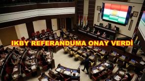 IKBY Irak Kürt Bölgesel Yönetimi Referandum Kararını Kabul Etti. #IKBY