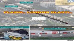 FLASH NEWS!. GREEN BLAST in LONDON !. Cowardly Attack!. Terror Attack - Bucket Bomb #LatestNews #londonexplosion
