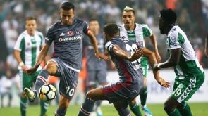 Beşiktaş ve Konyaspor'un ilk 11'i belli oldu!