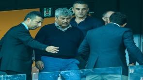 Maçı Lucescu da izledi