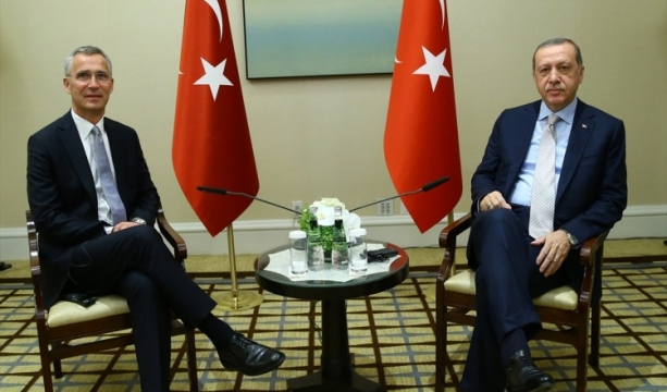 Erdoğan, NATO Genel Sekreteri ile görüştü