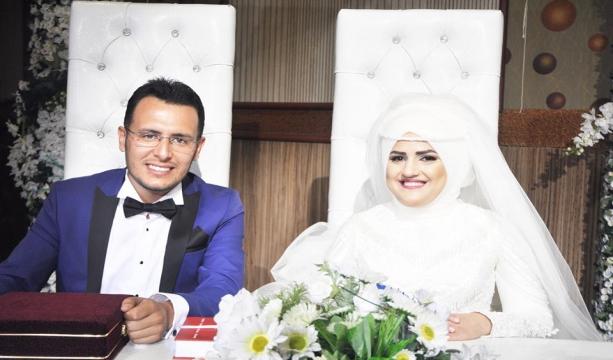 """Canan ile Rasim Atalay mutluluğa """"evet"""" dedi"""