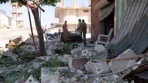 İdlib'deki hava saldırıları şiddetlendi