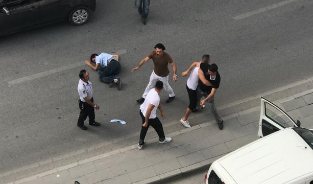 Trafik magandalarının kavgası #KonyaHaber