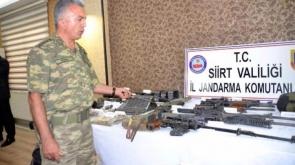 12 PKK'lı teröristten geriye bunlar kaldı!