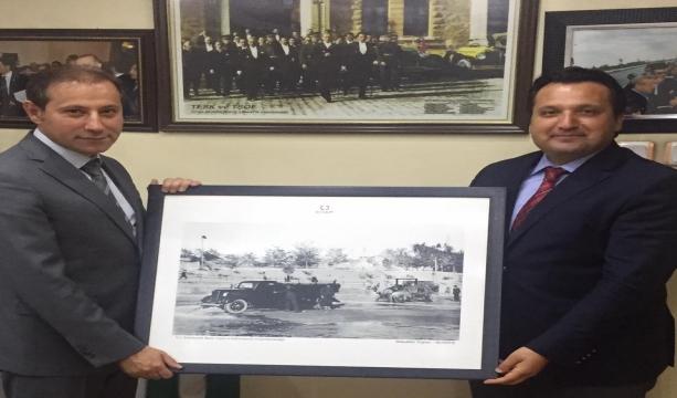 Abdurrahman Fidancı'dan başkanlara nazik ziyaret