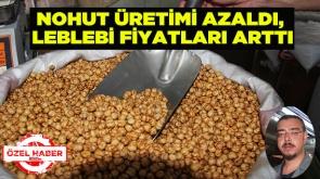 Nohut üretimi azaldı, leblebi fiyatları arttı #KonyaHaber