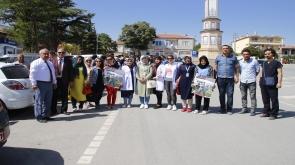 Yunak'ta obeziteye karşı sağlıklı yaşam yürüyüşü düzenlendi #KonyaHaber