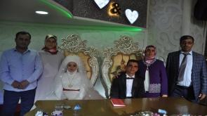 Hasan ve Hatice dünyaevine girdi