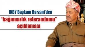 IKBY Başkanı Barzani'den Referandum Açıklaması #Barzani #IKBY