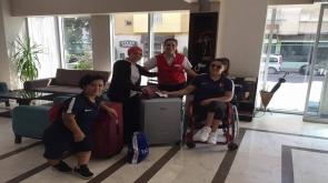Milli halterciler Konya'ya döndü
