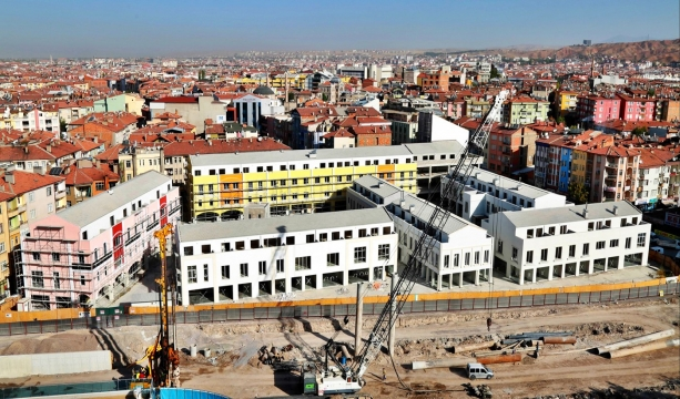 Piri Mehmet Paşa Çarşısı Aksaray'ın en gözde merkezi haline dönüşecek