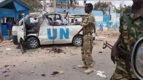 BM konvoyuna saldırı! Ölü ve yaralılar var #UN #Attack