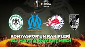 Konyaspor'un rakipleri bu hafta kaybetmedi