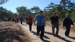 KMÜ'de sağlıklı yaşam yürüyüşü