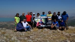 Doğaseverler Karayaka Dağı'na tırmandı #KonyaHaber