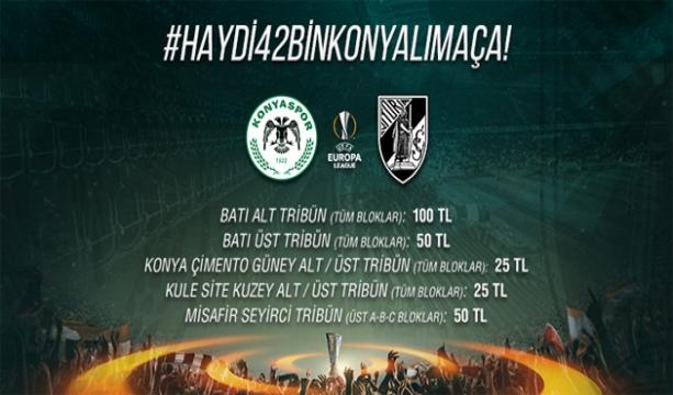 Konya'daki Avrupa maçının biletleri satışa çıktı!