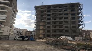 Konya'da 6. kattan düşen Afgan işçi hayatını kaybetti #konyahaber