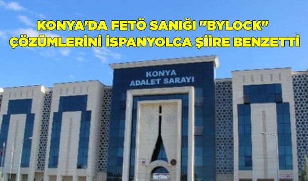 Konya'da FETÖ sanığı